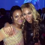 Shondia Sabari and Beyonce