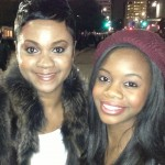 Shondia Sabari and Olympic Star, Gabrielle Douglas